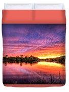 Sunset Culpeper Va Duvet Cover