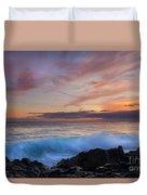 Sunset Curl Duvet Cover