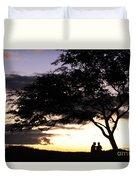 Sunset Date Night Duvet Cover