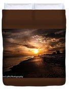 Sunset Delight  Duvet Cover by Kim Loftis