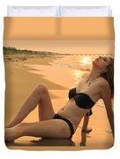 Sunset Desire Duvet Cover