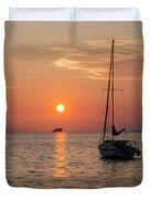 Sunset Dreams - Florida Duvet Cover