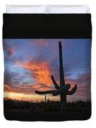 Sunset Embrace Duvet Cover