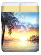 Sunset Exotics Duvet Cover