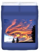 Sunset Extravaganza Duvet Cover
