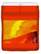 Sunset Flower Duvet Cover