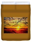 Sunset For Abigail Browne H B Duvet Cover