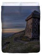 Sunset From Commedagh Duvet Cover
