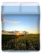 Sunset Glory Duvet Cover