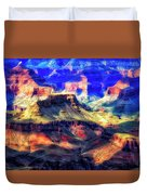 Sunset Glow At Mather Point Duvet Cover