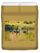 Sunset Goose Duvet Cover