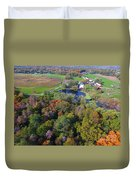 Sunset Hill Farms Indiana  Duvet Cover