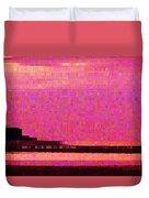 Sunset Hilton Head Duvet Cover