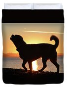 Sunset Howl Duvet Cover