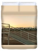 Sunset Hue Duvet Cover