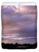 Sunset Hut Duvet Cover