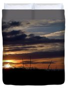 Sunset I I Duvet Cover