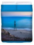 Sunset In Blue  Duvet Cover