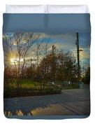 Sunset In Brooklyn  Duvet Cover