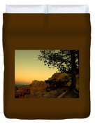 Sunset In Bryce Canyon Duvet Cover