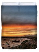 Sunset In Cambria Duvet Cover