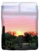 Arizona Sunset Duvet Cover