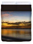 Sunset In Dar Duvet Cover