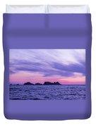 Sunset In Dubrovnik Duvet Cover
