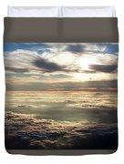 Sunset In Heaven Duvet Cover