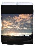 Sunset In November  Duvet Cover