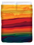 Sunset In Ottawa Valley 1 Duvet Cover