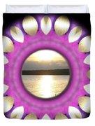 Sunset In Summertime Duvet Cover
