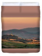 Sunset In The Countryside Duvet Cover