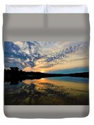 Sunset In The Pinelands  Duvet Cover