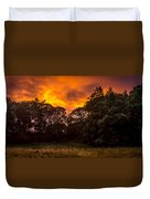 Sunset In The Shire Duvet Cover