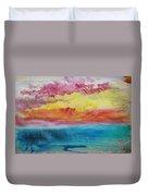 Sunset Lagoon Duvet Cover