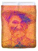 Sunset Man Duvet Cover