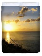 Sunset Monument Duvet Cover