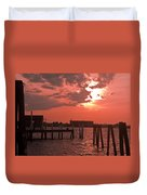 Sunset Newport Rhode Island Duvet Cover