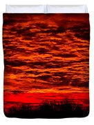 Sunset Of New Mexico Duvet Cover