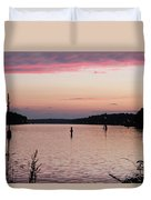 Sunset On C And D Duvet Cover