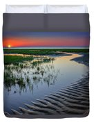 Sunset On Cape Cod Duvet Cover