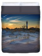 Sunset On Fire Island Duvet Cover
