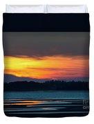 Sunset On Pei Duvet Cover
