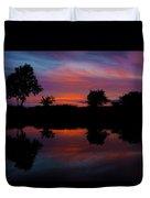Sunset On The Bladnoch Duvet Cover