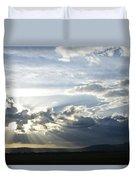 Sunset On The Mara Duvet Cover