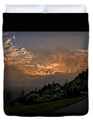 Sunset On The Parkway Duvet Cover