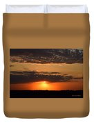 Sunset On The Prairie Duvet Cover