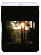Sunset On The Trace Duvet Cover