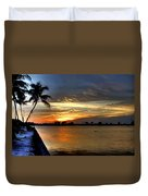 Sunset Or Sunrise Duvet Cover